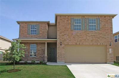 Killeen Single Family Home For Sale: 3108 Claymore Street