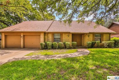 Temple Single Family Home For Sale: 3609 Las Moras