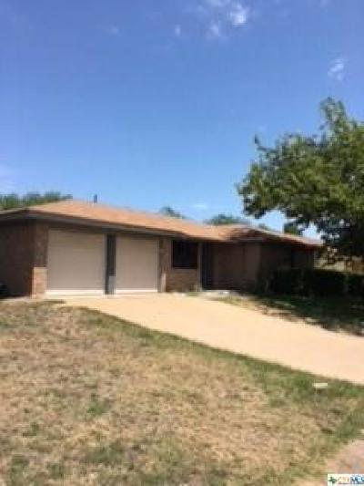 Copperas Cove Single Family Home For Sale: 304 Myra Lou
