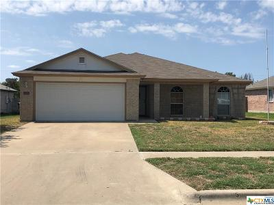 Killeen Single Family Home For Sale: 5501 Teal Drive