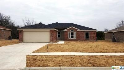 Copperas Cove Single Family Home For Sale: 2507 Heartland Avenue