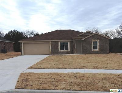 Copperas Cove Single Family Home For Sale: 2521 Heartland Avenue