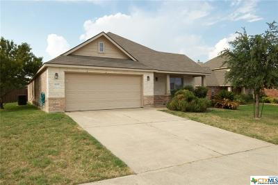 Killeen Single Family Home For Sale: 6109 Graphite
