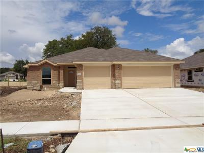 Copperas Cove Single Family Home For Sale: 1709 Risen Star