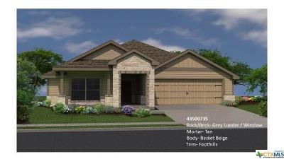 Copperas Cove Single Family Home For Sale: 2335 Pintail Loop
