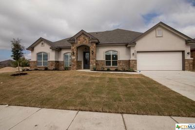 Killeen Single Family Home For Sale: 3605 Dodge City Drive