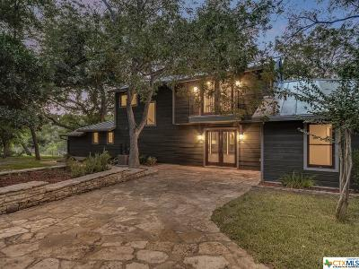 Wimberley TX Single Family Home For Sale: $1,395,000