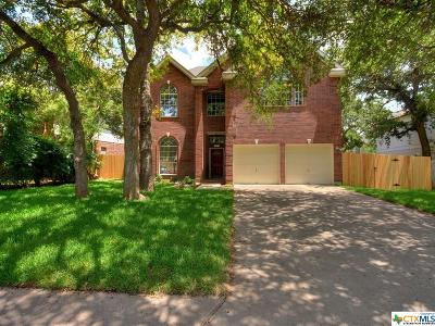 Round Rock Single Family Home For Sale: 3931 Grayling
