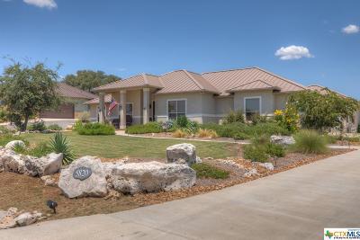 New Braunfels Single Family Home For Sale: 5820 Keller Ridge