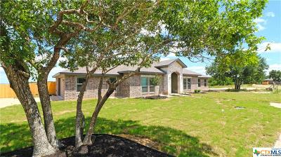 Copperas Cove Single Family Home For Sale: 516 Skyline Drive