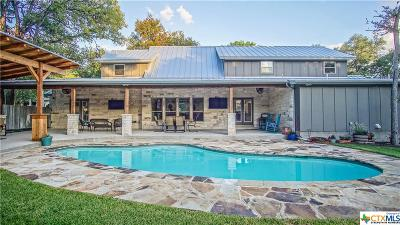 New Braunfels Single Family Home For Sale: 1827 Crystal Springs