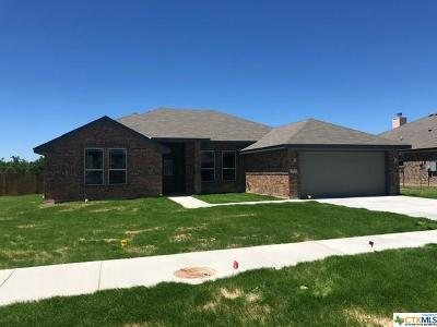 Copperas Cove Single Family Home For Sale: 2601 Settlement Drive