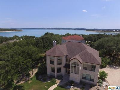 Canyon Lake Single Family Home For Sale: 1185 Kings Point Drive