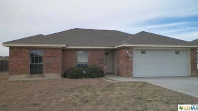 Harker Heights Single Family Home For Sale: 706 Jorgette