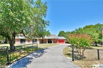 Salado Single Family Home For Sale: 4310 Amanda Drive