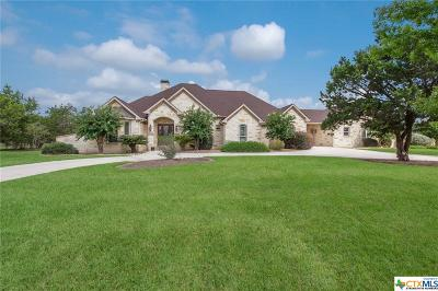 New Braunfels Single Family Home For Sale: 2715 Trophy Point