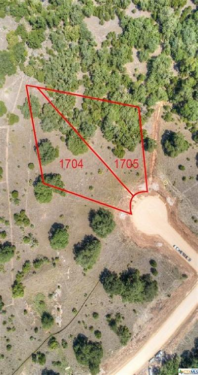 New Braunfels Residential Lots & Land For Sale: Lot 1704 Brushy Curve
