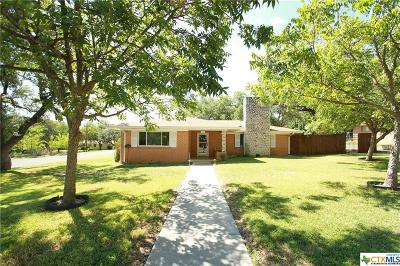 Lampasas Single Family Home For Sale: 1302 W Ave A