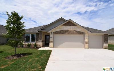 Killeen Single Family Home For Sale: 6115 Verde Drive