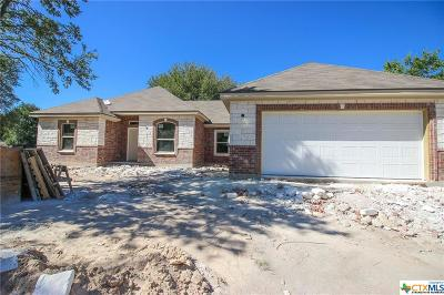 Belton Single Family Home For Sale: 105 Buckskin Loop