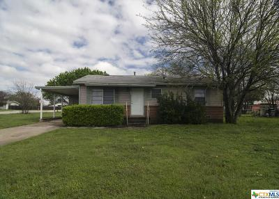 Copperas Cove Single Family Home For Sale: 401 S 7th