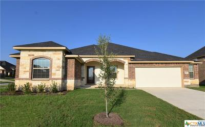 Killeen  Single Family Home For Sale: 7600 Red Coral Drive