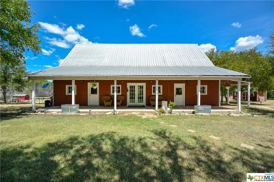 Salado Single Family Home For Sale: 488 Rose Lane