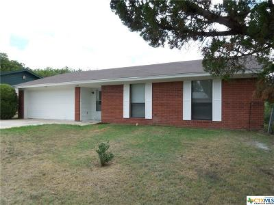 Copperas Cove Single Family Home For Sale: 1209 S 7 Th Street Street