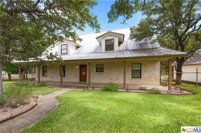 Burnet County Single Family Home For Sale: 121 Circel Oak Drive