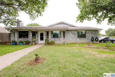 Killeen Single Family Home For Sale: 4505 Colby Drive