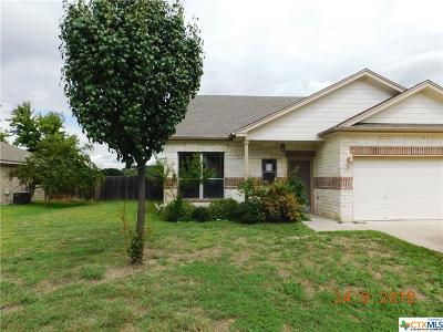 Copperas Cove Single Family Home For Sale: 2104 Walker Place