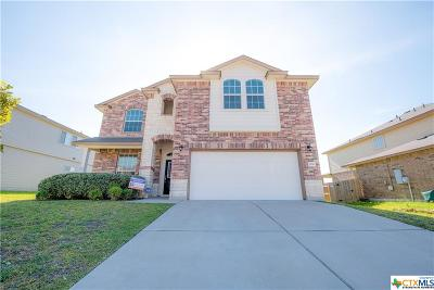 Copperas Cove Single Family Home For Sale: 2110 Terry