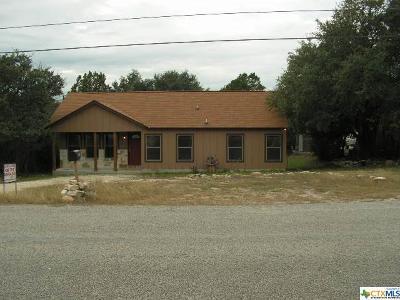 Canyon Lake Single Family Home For Sale: 1157 Canyon Trace