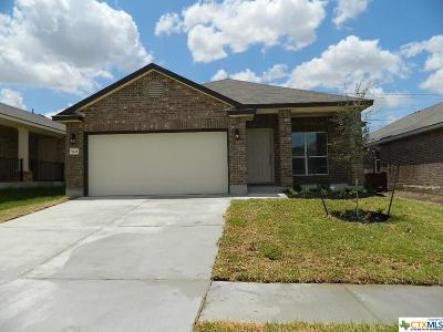 Killeen Single Family Home For Sale: 9611 Glynhill