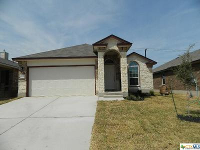 Killeen Single Family Home For Sale: 9605 Glynhill