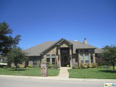Belton Single Family Home For Sale: 11710 Camdyn Caye Drive