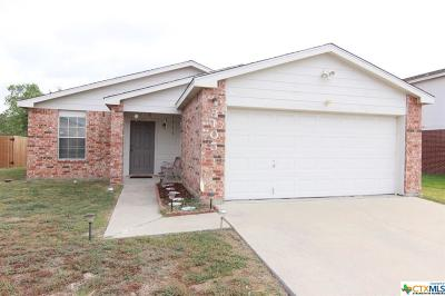 Killeen Single Family Home For Sale: 3105 Paintbrush Drive