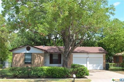 Killeen Single Family Home For Sale: 2601 John Road