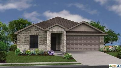 Copperas Cove Single Family Home For Sale: 2411 Pintail Loop