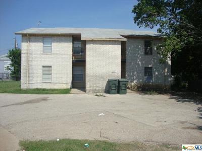 Killeen Multi Family Home For Sale: 1301 Quail