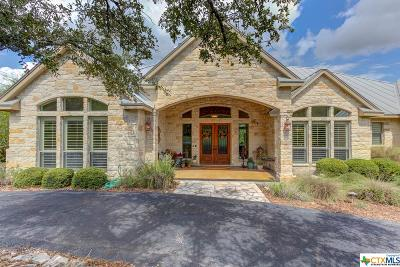 New Braunfels Single Family Home For Sale: 459 Shady Hollow