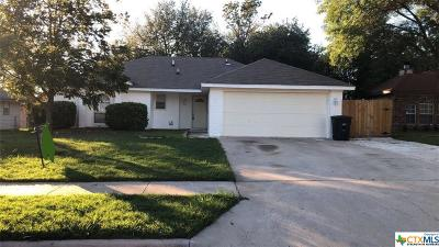 Killeen Single Family Home For Sale: 2601 Lazy Ridge Drive