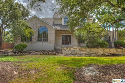 Canyon Lake Single Family Home For Sale: 2465 Connie Drive