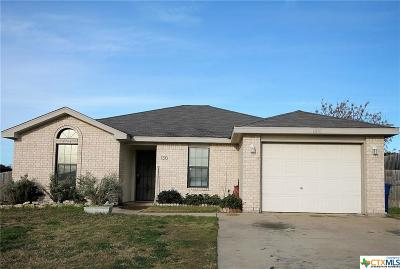 Copperas Cove Single Family Home For Sale: 1310 Travis Circle