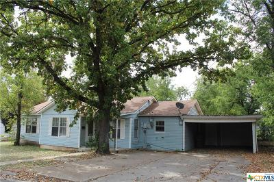 Killeen Single Family Home For Sale: 416 E Garrison