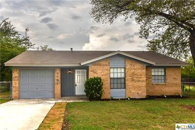 Killeen Single Family Home For Sale: 3707 Madison