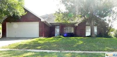 Copperas Cove Single Family Home For Sale: 908 Kelso Drive