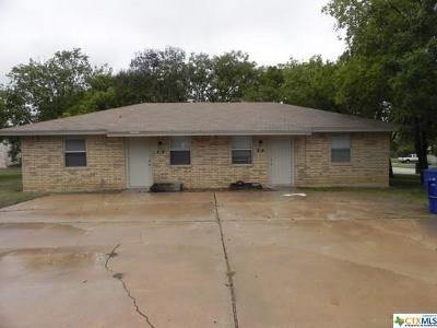 Copperas Cove Single Family Home For Sale: 605/607 Hackberry Street