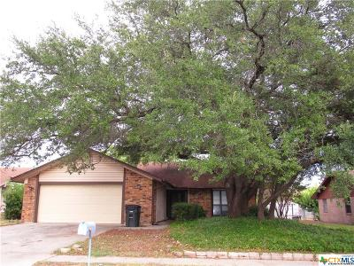 Killeen Single Family Home For Sale: 2404 Botanical