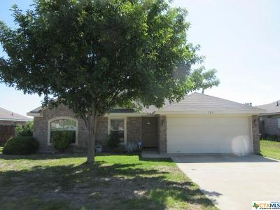 Copperas Cove Single Family Home For Sale: 2805 Lindsey Drive